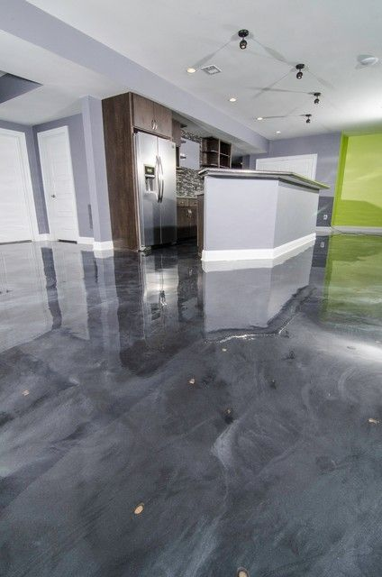 installing epoxy floors in a wet space is a bad idea, and if you spill something often, they are super slippery
