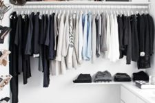 17 a comfy closet done with IKEA Pax items – choose the pieces to create your own custom space
