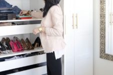 21 IKEA Pax wardrobe hack to create a comfy girlish dressing room