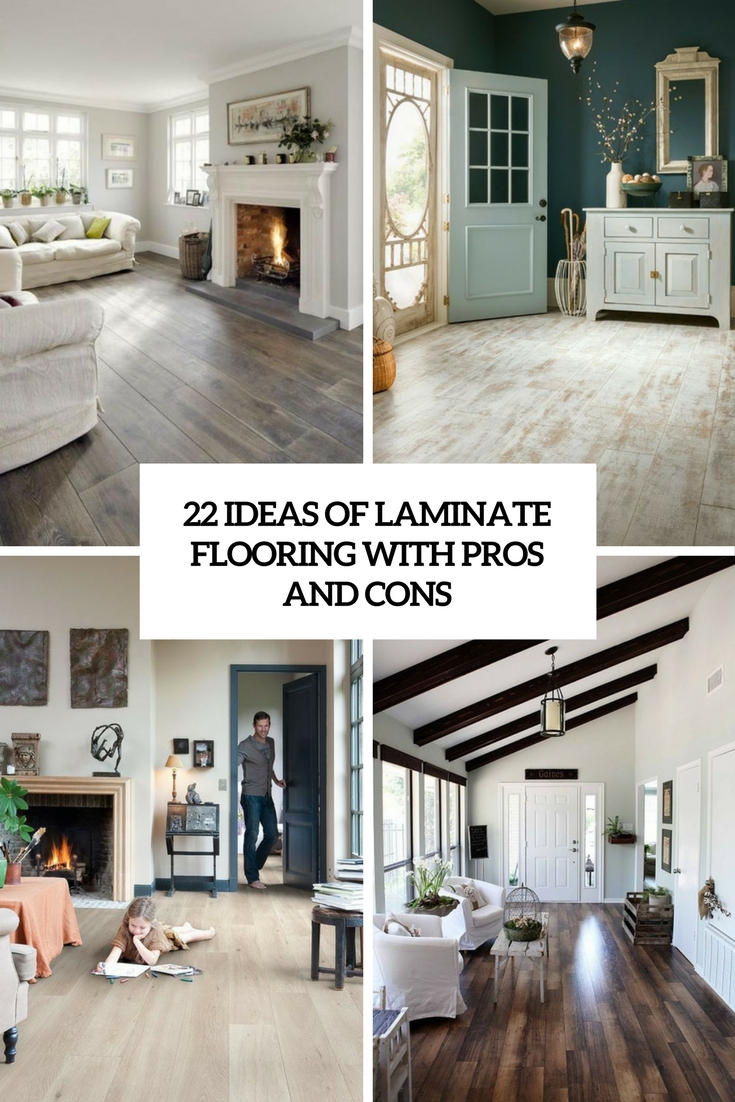 ideas of laminate flooring with pros and cons cover