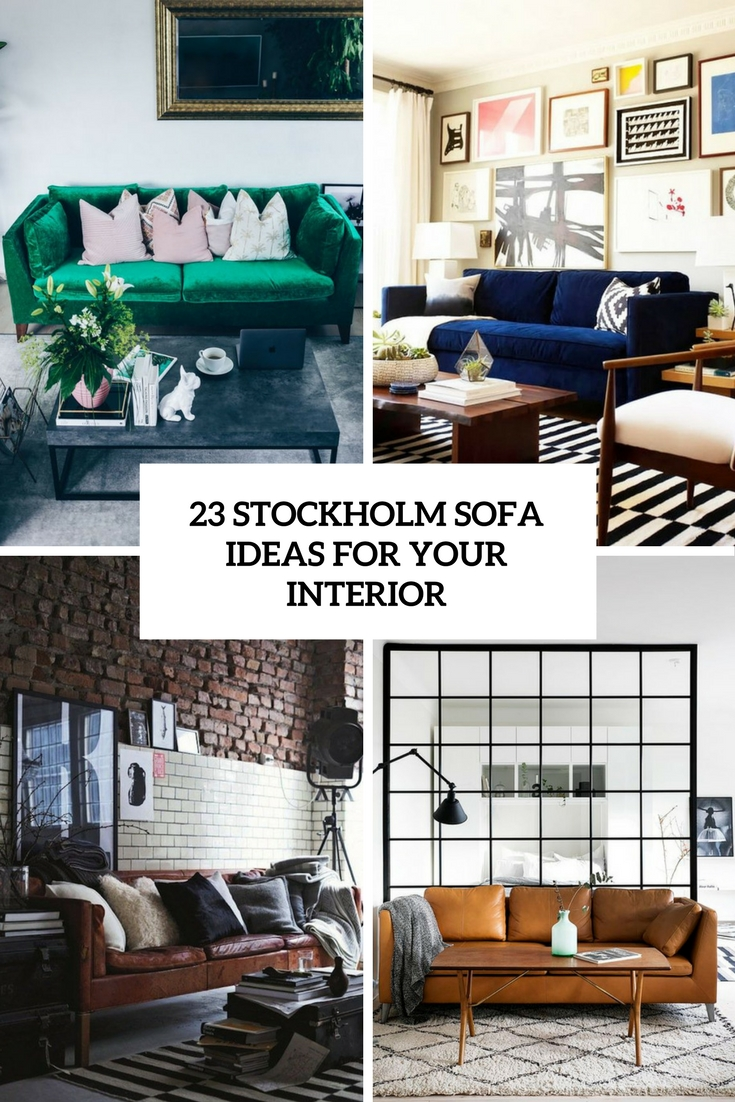 23 IKEA Stockholm Sofa Ideas For Your Interior