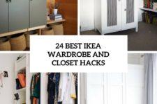 24 best ikea wardrobe and closet hacks cover