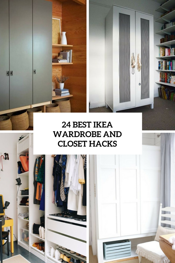 24 Best IKEA Wardrobe And Closet Hacks