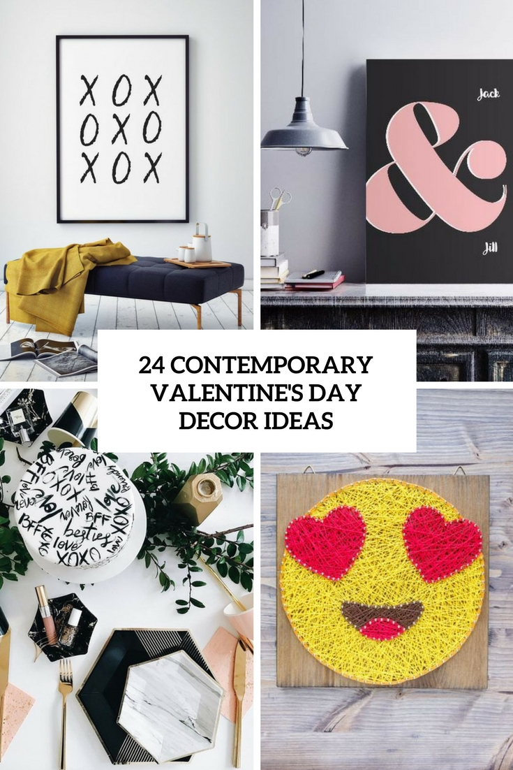 24 Contemporary Valentine's Day Decor Ideas
