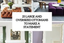 25 large and oversized ottomans to make a statement cover