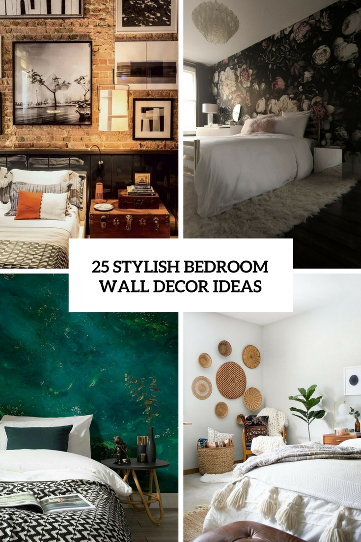 Wonderful Stylish Bedroom Wall Decor Ideas Cover