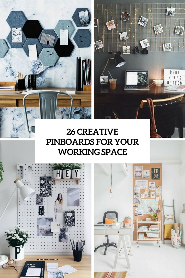 creative pinboards for your working space cover
