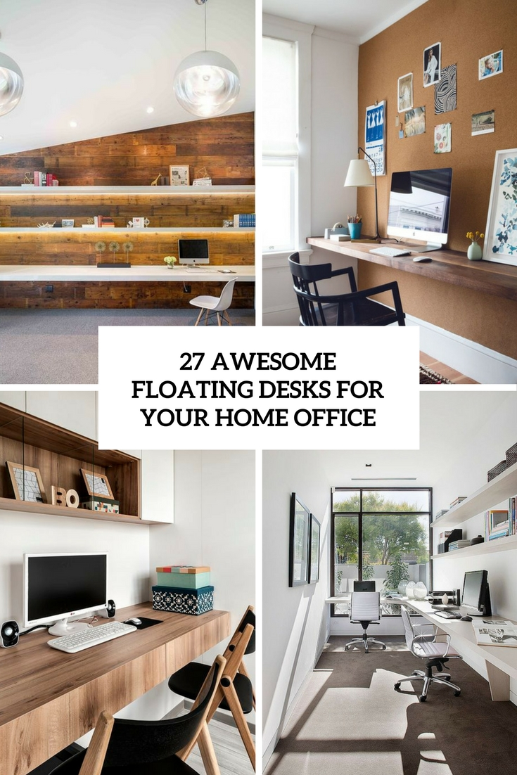 awesome floating desks for your home office cover