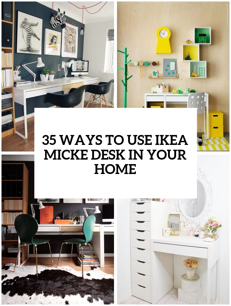 ways to use ikea micke desk in your home cover