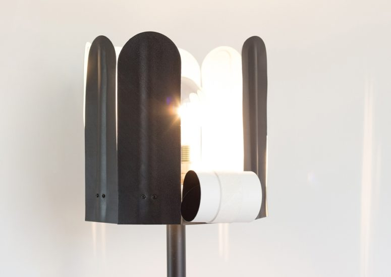 Rolo Floor Lamp Inspired By Flowers' Petals