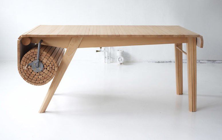 01-This-unique-practical-table-is-ideal-for-those-who-have-guests-from-time-to-time-and-need-to-accomodate-them-775x496 Flexible @ Table To Fit All Your Needs