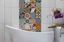 06 tiles needn't be boring, make a colorful mismatching mosaics