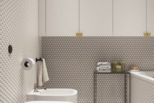 08 try trendy options like penny tiles to get an edgy look