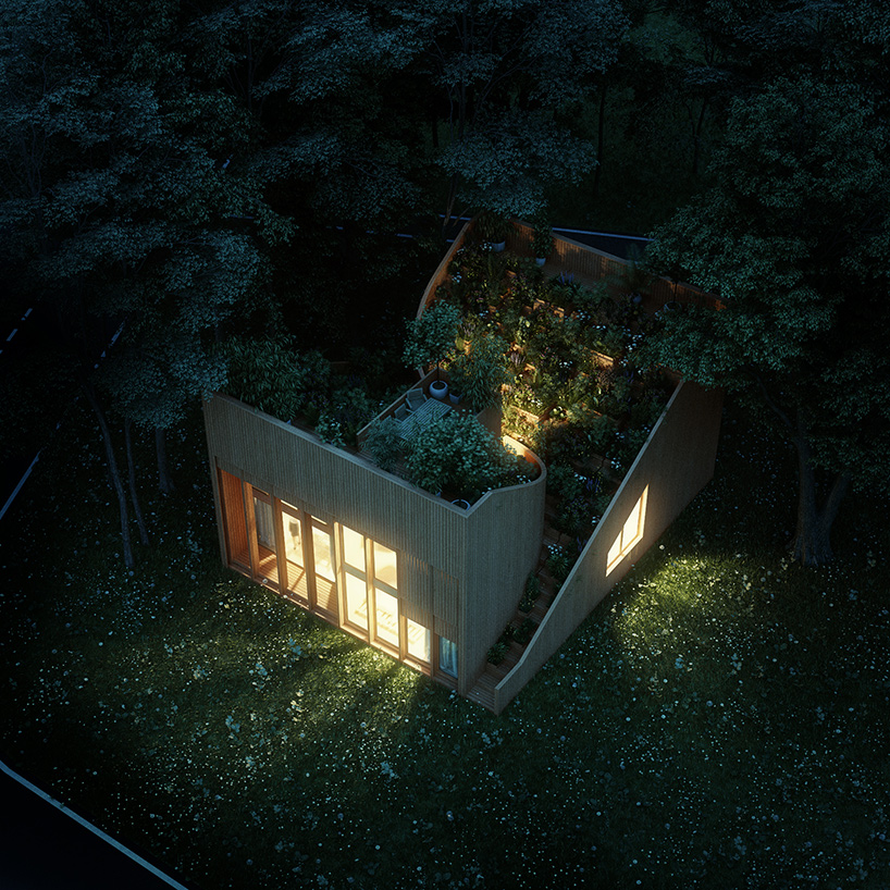 The house is rather compact and comfy and it has its own aromas depending on the season