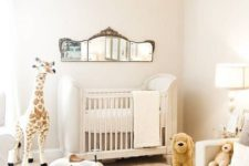 12 a very cozy and fluffy gender neutral nursery done in neutral shades and with neutral toys
