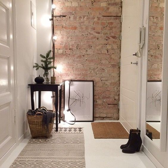 hang some string lights in the corner to enlighten the space better and make it inviting