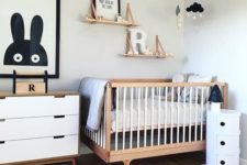 scandinavian-style nursery design