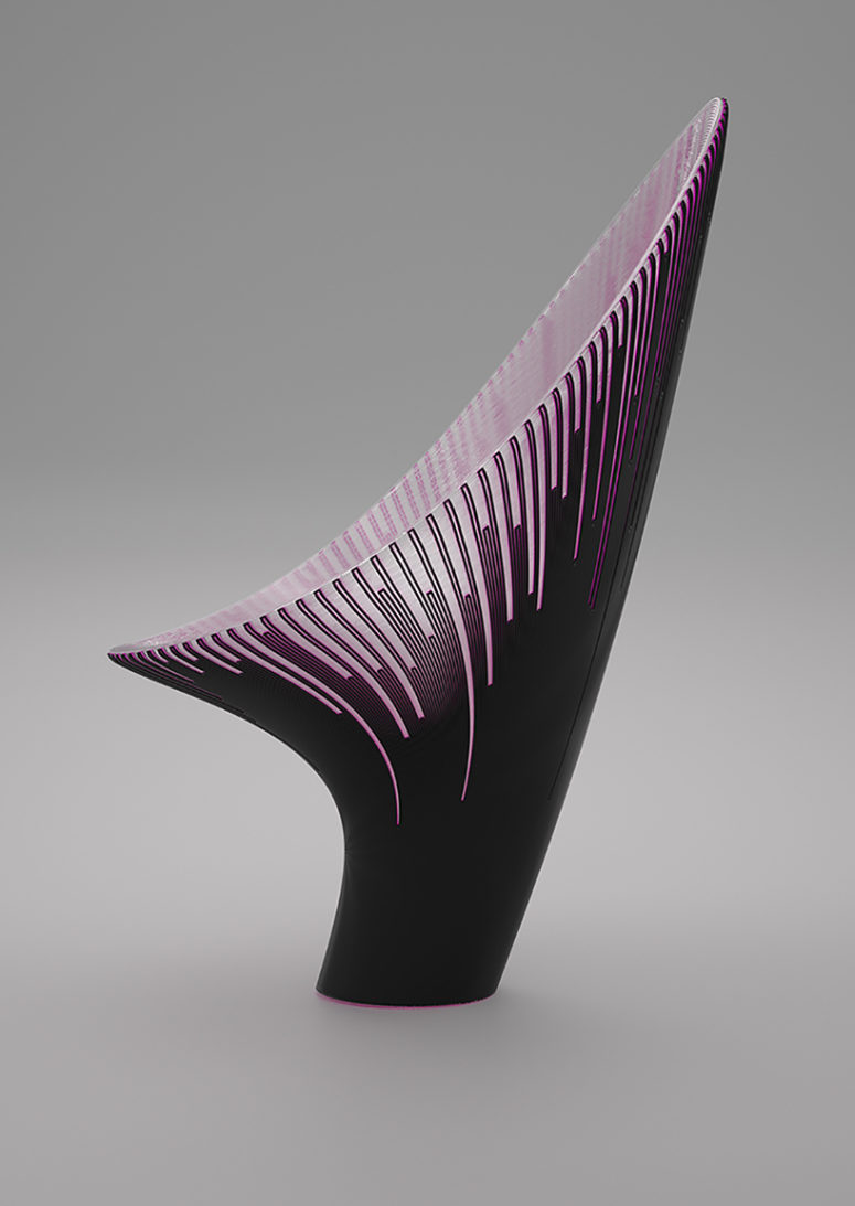 3D-Printed Chairs With A Futuristic Design