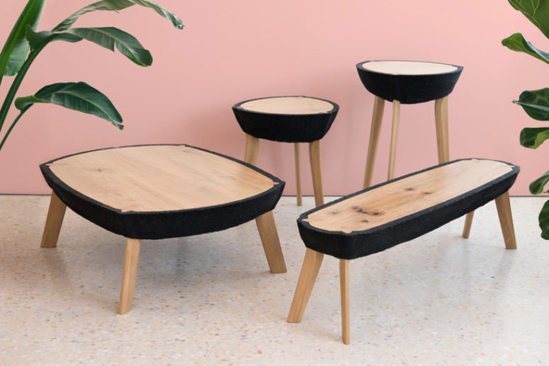 Fikra Tables Collection Of Natural And Manmade Materials