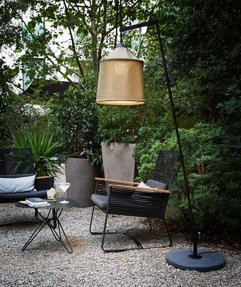 Jaima lamp collection is inspired by Bedouin tents and is made of the same materials and of similar shapes