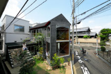 01 Mushroom House features a garden with herbs, it's a Y-shaped home with a small foot