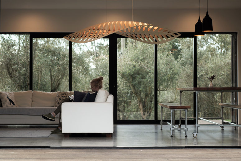 Navicula pendant lamp is inspired by Plankton microorganisms that produce oxygen in the sea