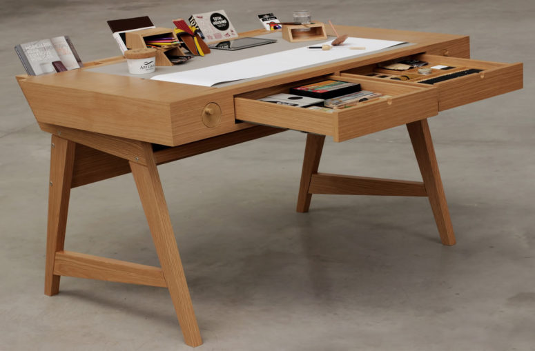 01-Risko-desk-is-created-especially-for-creative-people-who-likve-drawing-sketching-painting-and-crafting-something-775x509 Risko Drawing Desk For Creative People