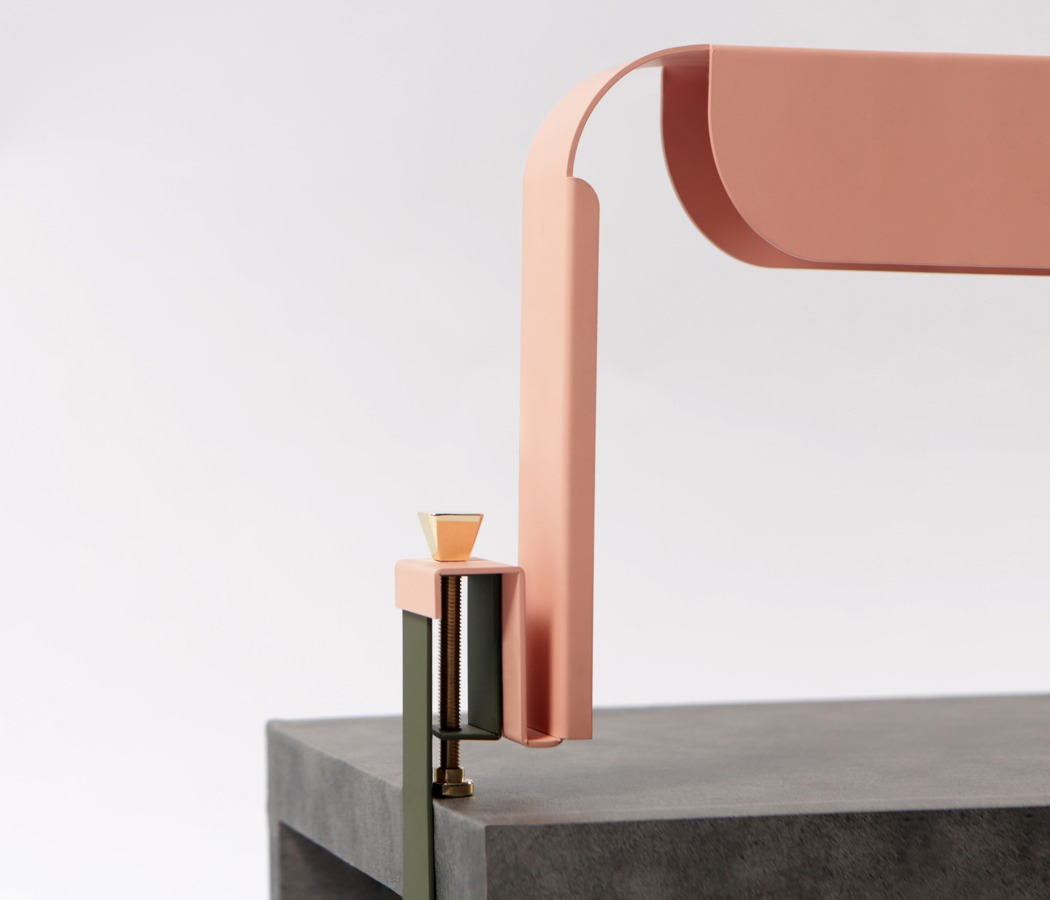 The piece can be easily mounted to any surface, from a desk to an entryway console table to catch everything you need