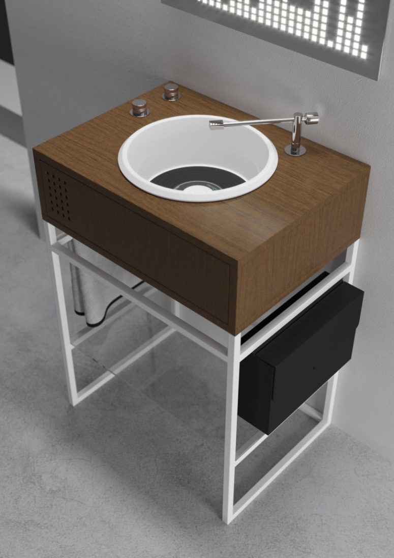Vinyl Bathroom Collection For A Bold Look Digsdigs
