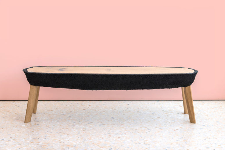 Each table is unique and can be used for different purposes and spaces