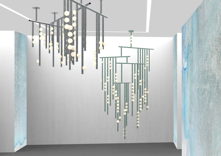 Create your own under the sea look with this lighting collection