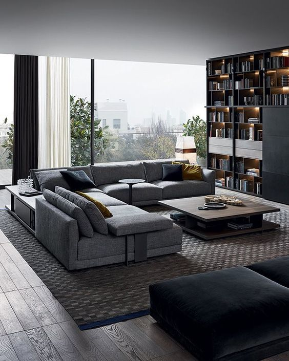 25 Chic Sectional Sofas To Incorporate Into Interior Digsdigs