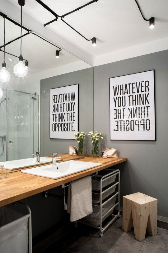 a modern black and white graphic artwork for a modern space with an industrial feel