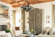 15 a breathtaking coffered ceiling makes a bold statement and adds a refined feel to the space