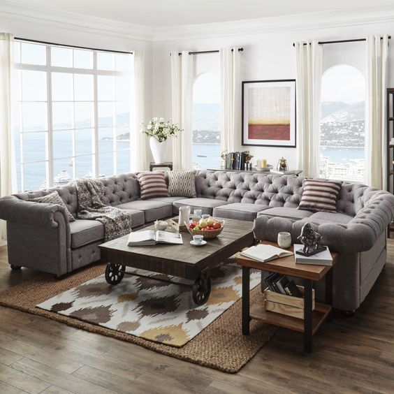 25 Chic Sectional Sofas To Incorporate Into Interior