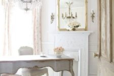 22 such French country house or exquisite vintage spaces require vintage-framed mirrors