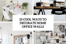 25 cool ways to decorate home office walls cover