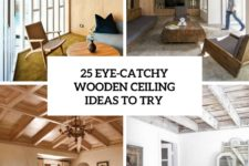 25 eye-catchy wooden ceiling ideas to try cover