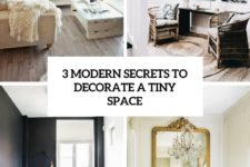 3 modern secrets to decorate a tiny space cover