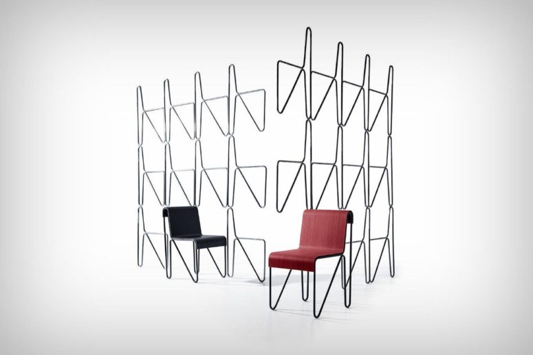 Beugel Chair was produced back in 1930s and now Cassina featured a chic and modern ergonomic tribute to it