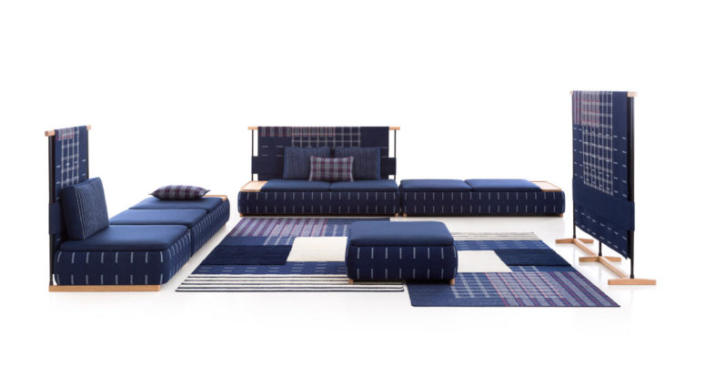 LAN furniture collection consists of various modules that are available to create a layout you want