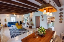 01 This amazing colorful home is filled with bold touches and breathes with traditional Romanian culture, which makes it so special