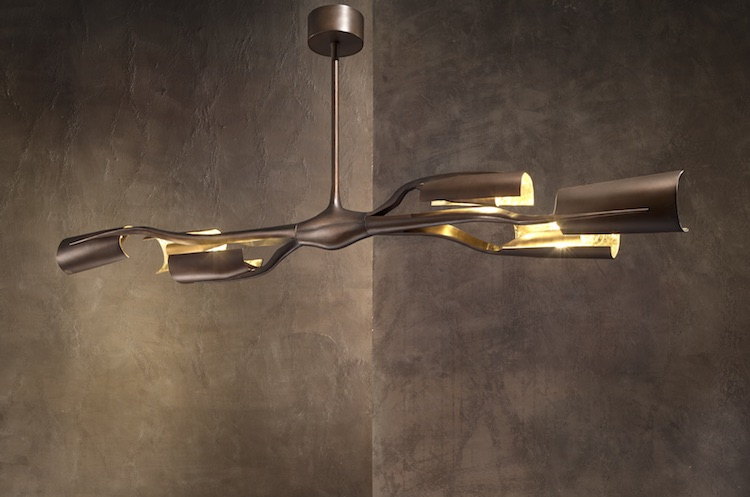 Unique Sculptural Lighting Collection With A Refined Feel