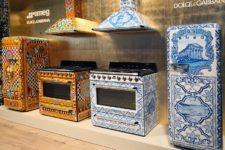 02 There's a blue and orange range inspired by traditional ceramics from Sicily