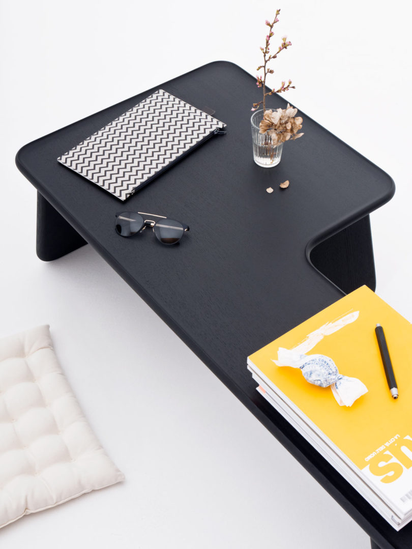 These little comfy tables are great for contemporary small spaces, they can be used by both kids and adults