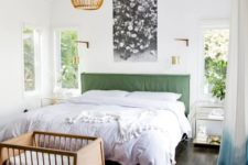 not cluttered master bedroom