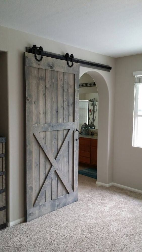 Sliding Barn Door Designs: 25 Sliding Barn Doors Ideas For A Rustic Feel