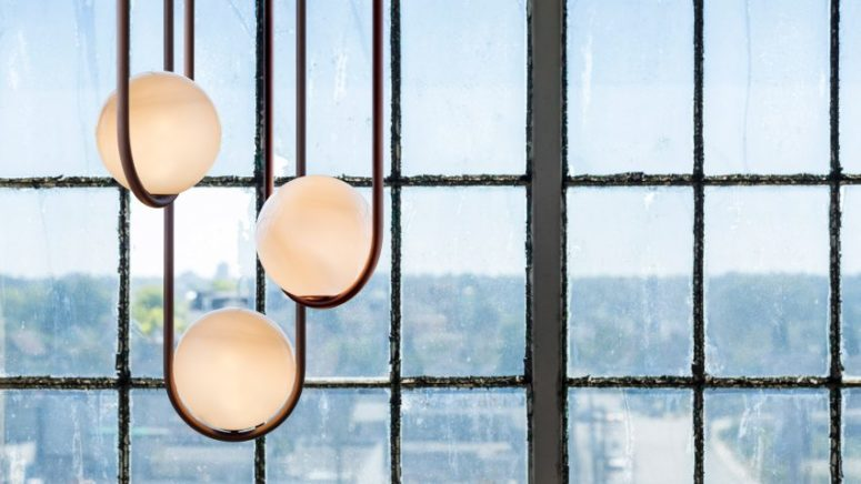 Mila Pendant Lamps Inspired By Pearls