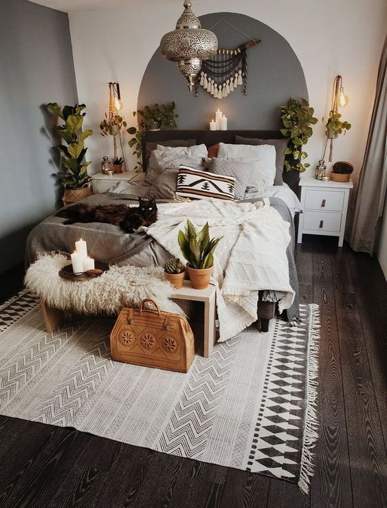 Eclectic Bedroom Bohemian Spaces