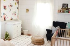 changing table in a bedroom